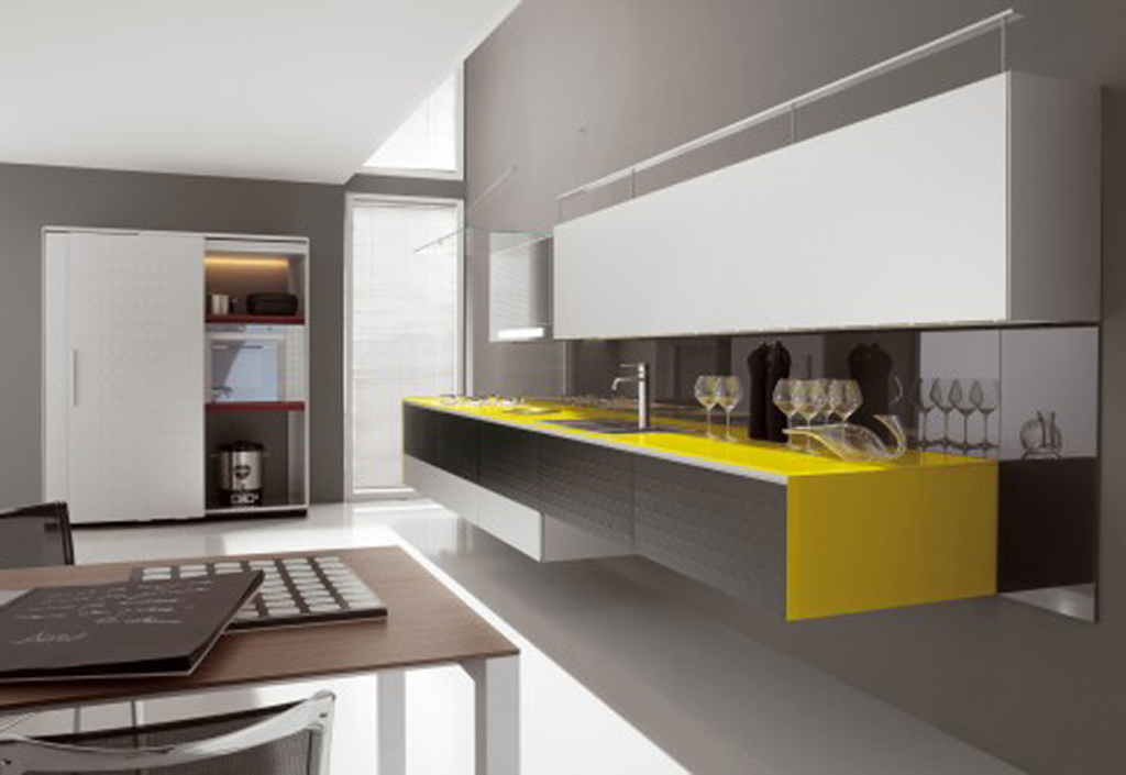 25 amazing minimalist kitchen design ideas for Kitchen decoration designs