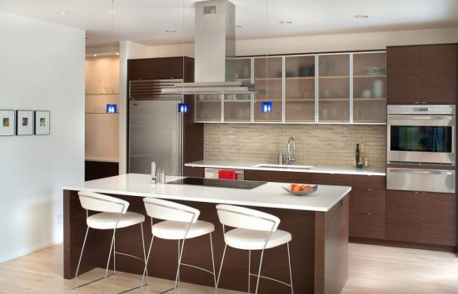 25 amazing minimalist kitchen design ideas for Home kitchen design pictures