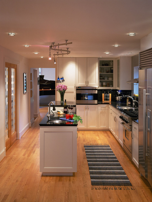 22 stylish long narrow kitchen ideas godfather style for Narrow kitchen ideas