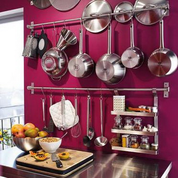 30 amazing kitchen storage ideas for small kitchen spaces for Kitchen organization ideas small spaces