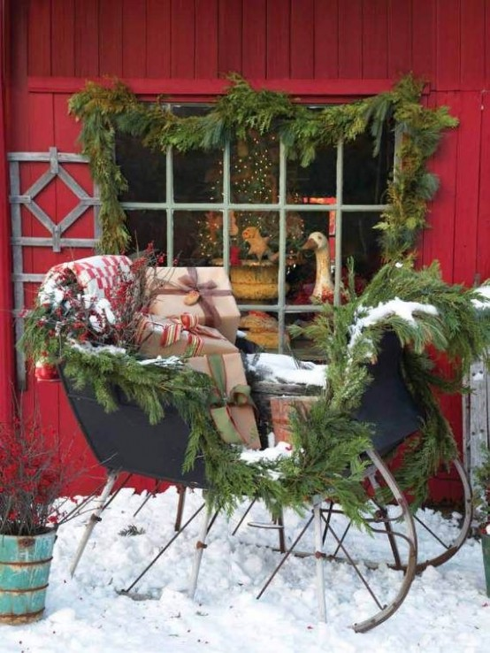 fun-and-creative-sleigh-decor-ideas-for-christmas-6