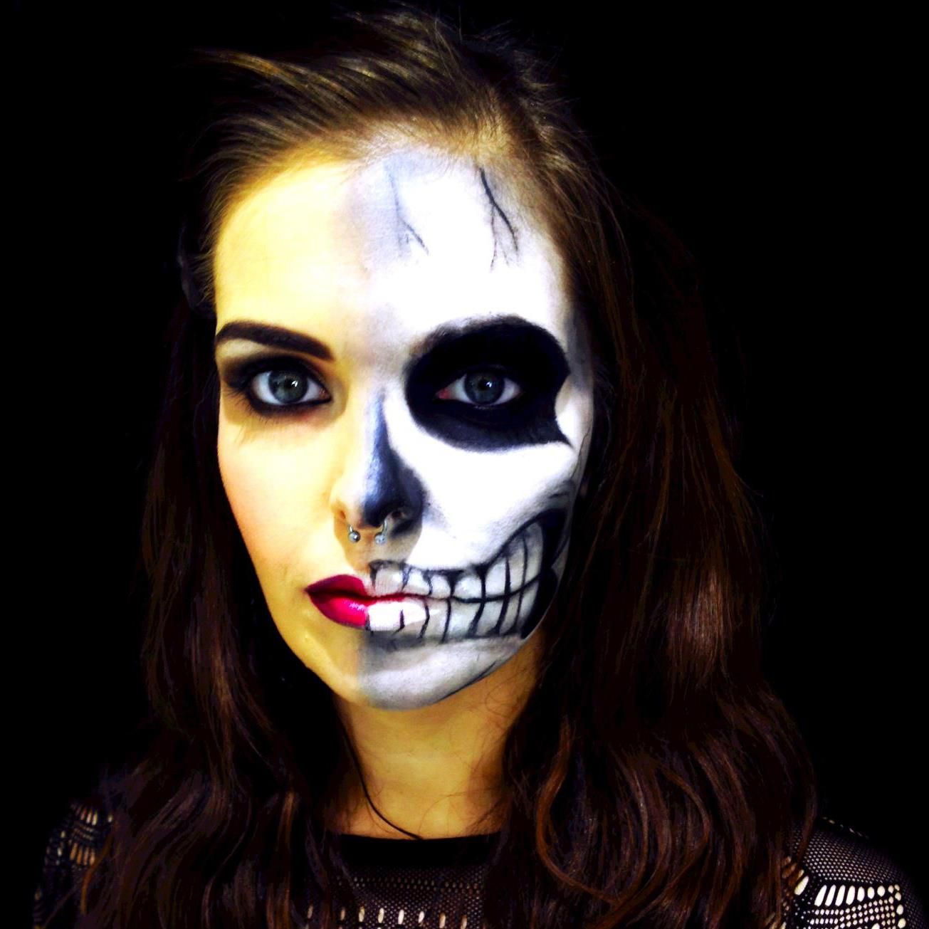 34 SCARY HALLOWEEN MAKEUP IDEAS  Godfather Style - Really Simple Halloween Makeup