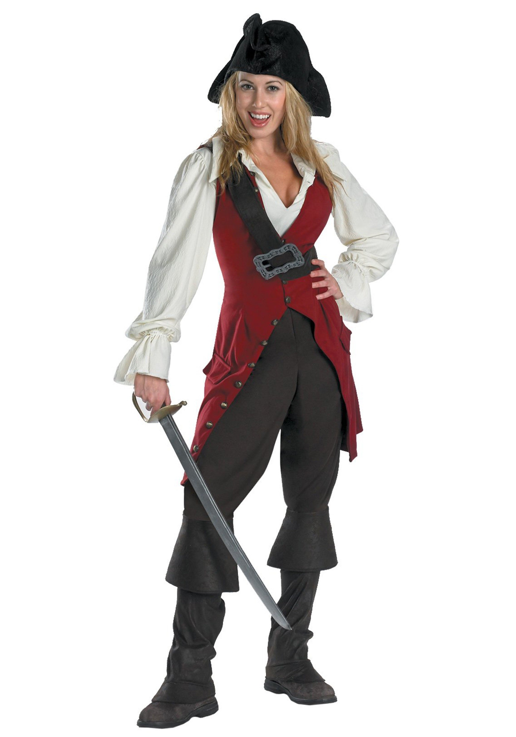 how to make a homemade pirate costume for men