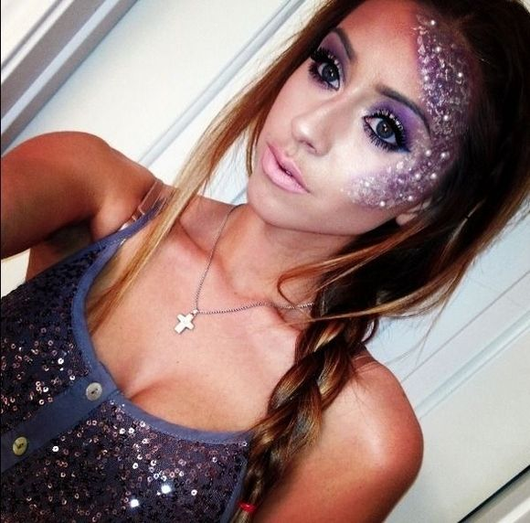 pretty-halloween-makeup.