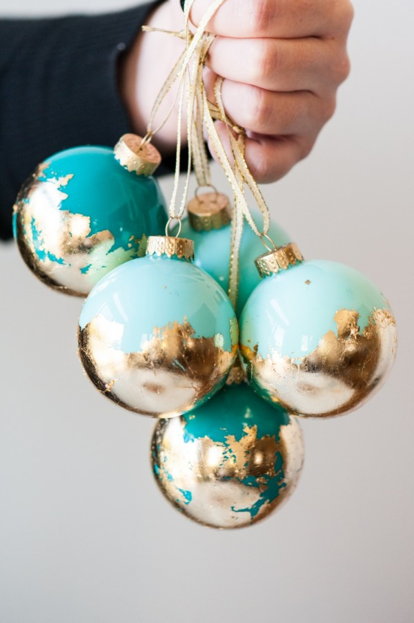 1-diy-painted-gold-leaf-ornaments