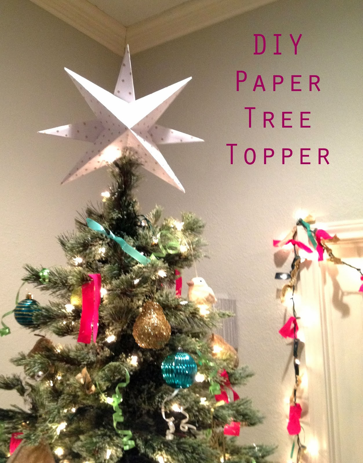 Star Topper For Christmas Tree