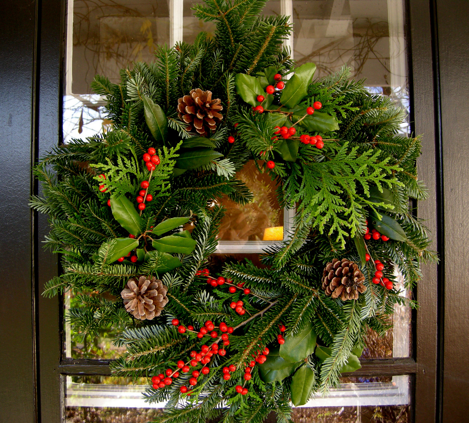 Christmas wreath 2011