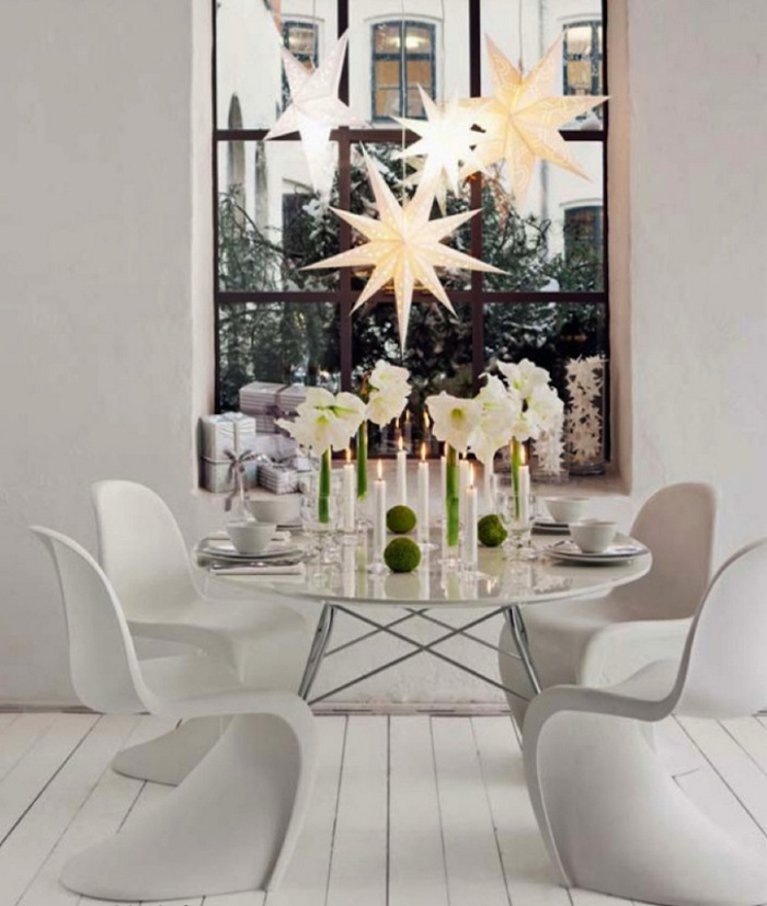 Shabby Chic Decorating Ideas: 38 MODERN CHRISTMAS DECORATION INSPIRATIONS