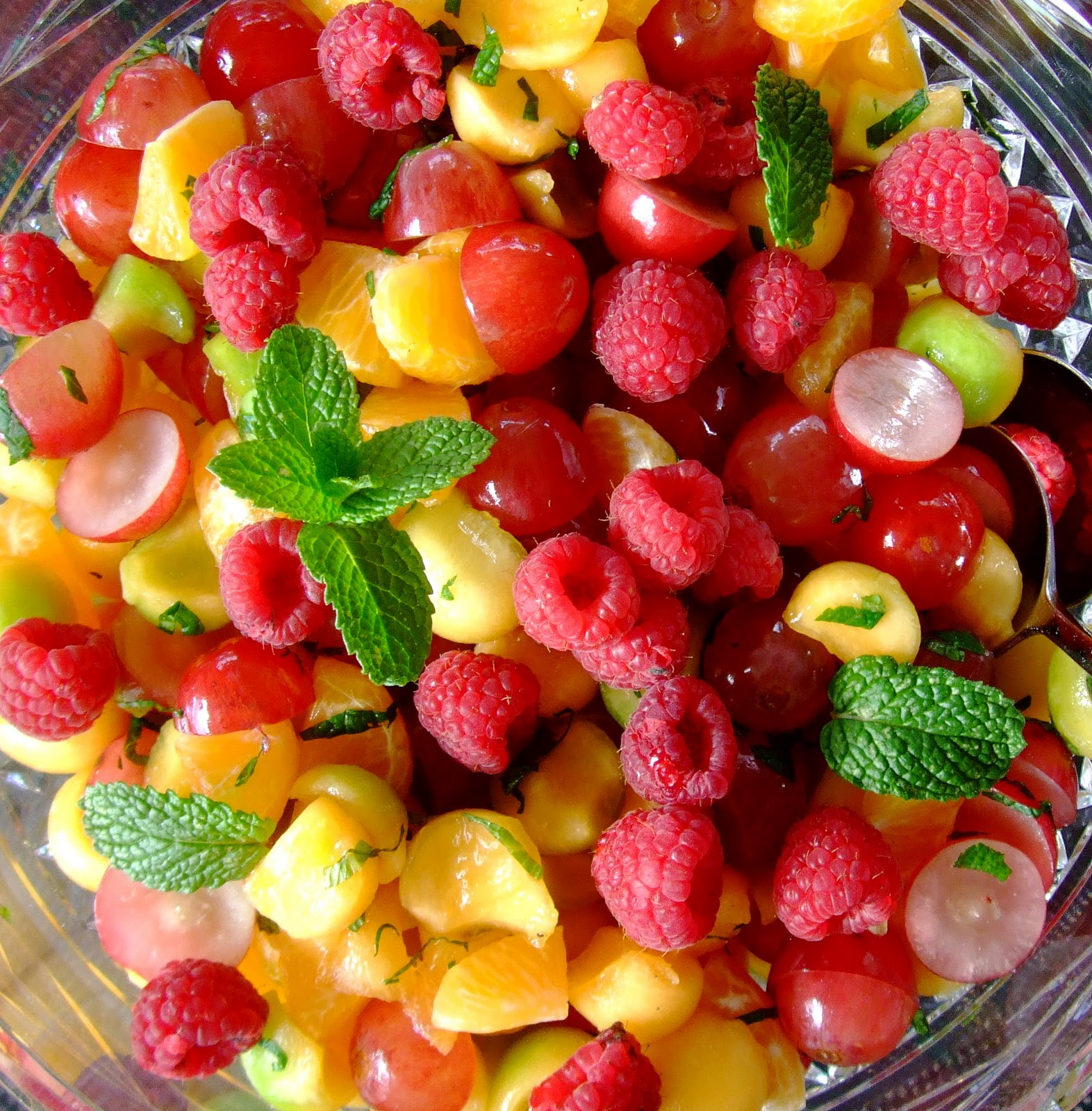 fruit salad receipe