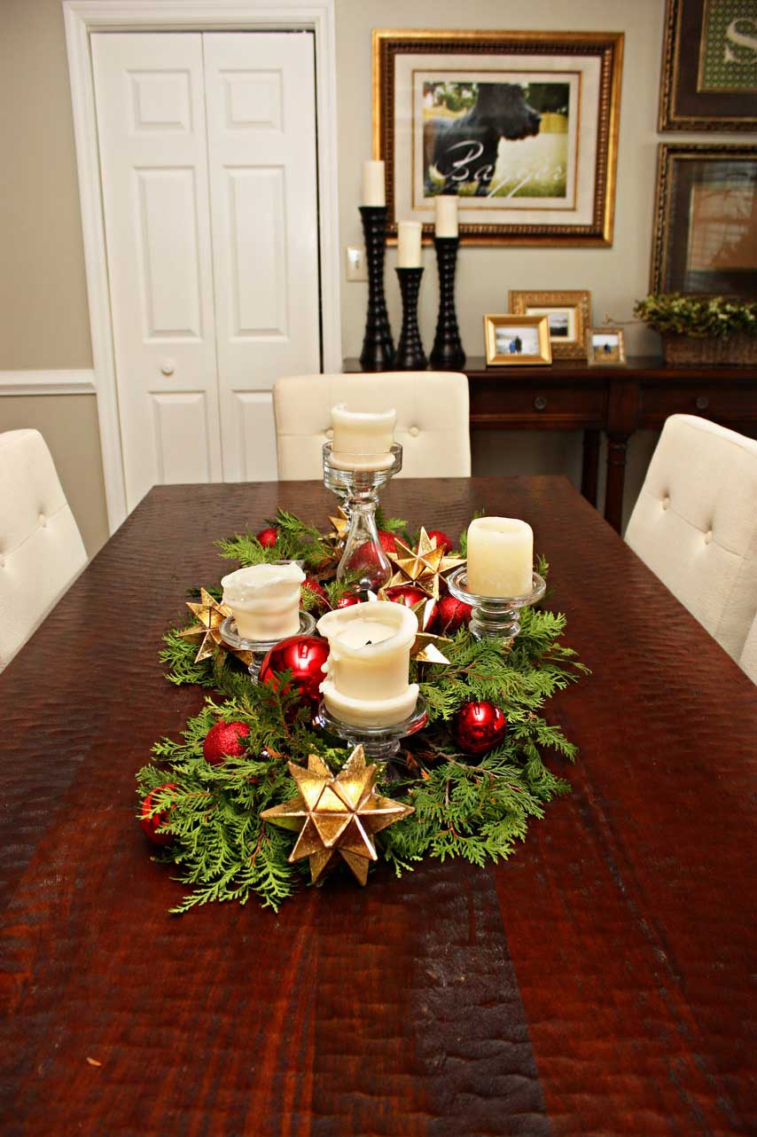 Fascinating-easy-make-christmas-table-decorations-