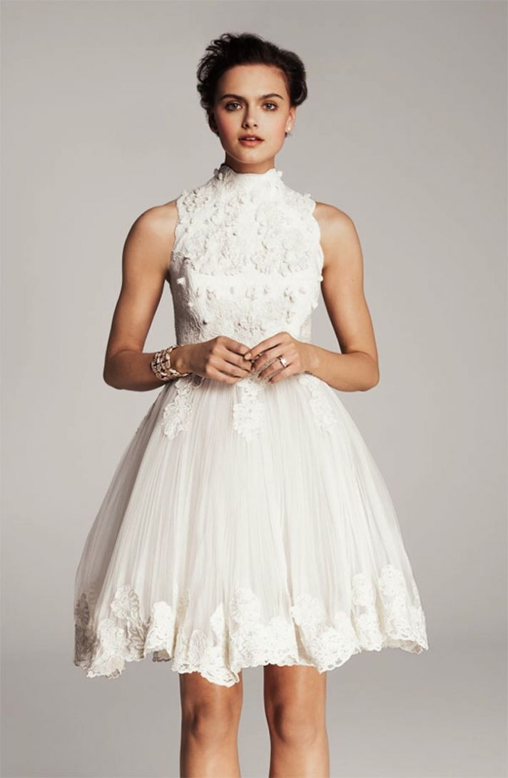 lace-little-white-wedding-dresses-for-the-wedding-reception.
