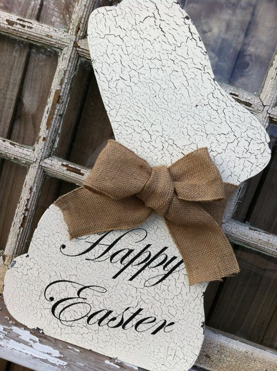 white easter decorations