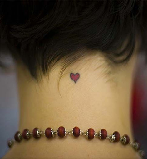 Small-heart-tattoos-designs-on-neck-for-men-and-women.