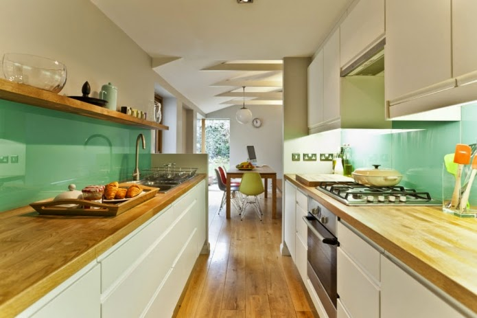 long-narrow-kitchen-ideas-white-and-mint-long-narrow-kitchen-design
