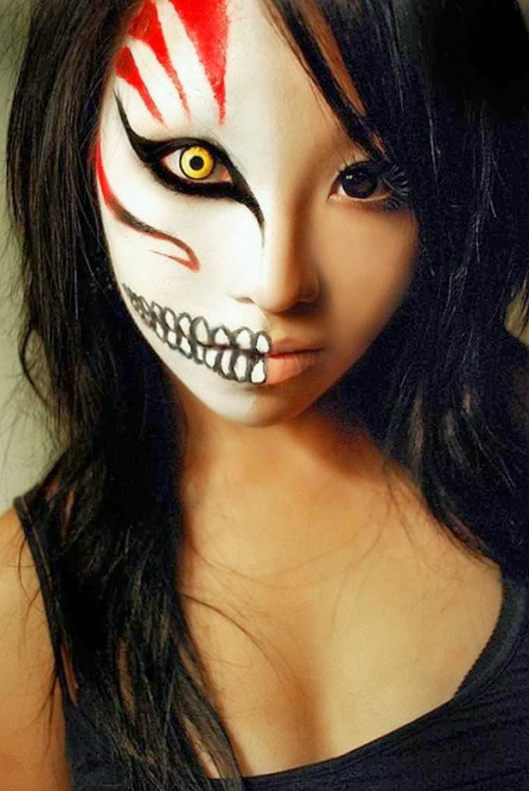 1 Halloween Scary Makeup Ideas.