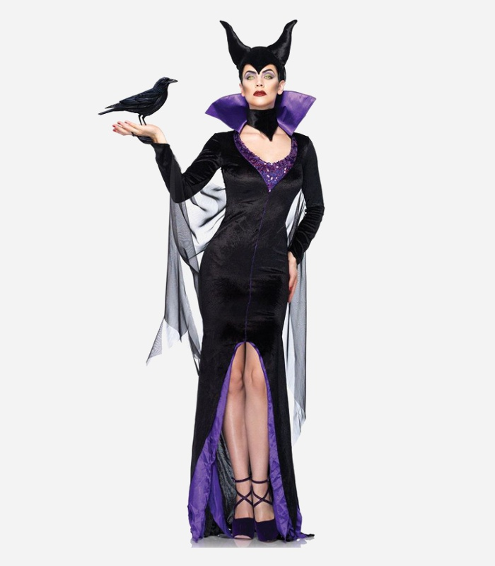 Scary-Halloween-Costumes-for-Women-Disney-Maleficent-Adult-Costume.