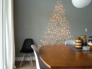 32 ARTIFICIAL WALL CHRISTMAS TREE INSPIRATIONS…..